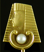 Art Deco Egyptain Revival Stickpin (J9517).